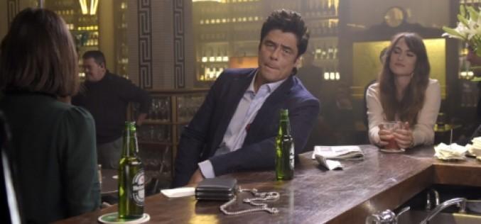 Benicio del Toro figura protagonica de Heineken en nueva campaña publicitaria