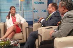 Nikauly de la Mota sin tiempo para conducir y producir tv; esta en campania «full» con reeleccion de Danilo