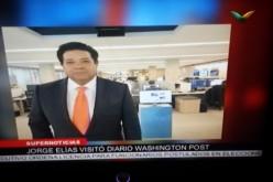 Frank Jorge Elias, de SuperCanal, visita The Washington Post porque hara periodico para dominicanos en el exterior