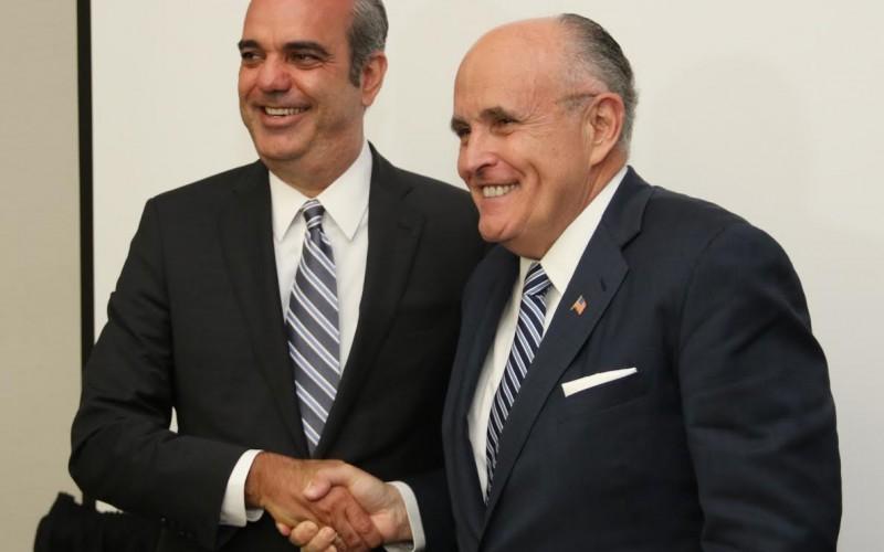 Rudolph Giuliani, Luis Abinader y la delincuencia
