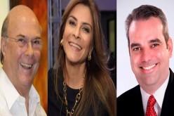 Luis Abinader, Hipólito y Carolina andan «daoalpecao» detrás de los votos este fin de semana…
