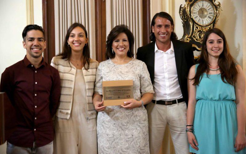 Universidad española reconoce a la vice Margarita Cedeño