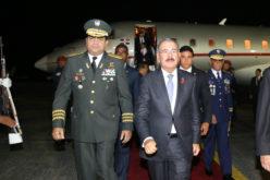 Presidente Medina regresa de Cuba luego de participar en Cumbre