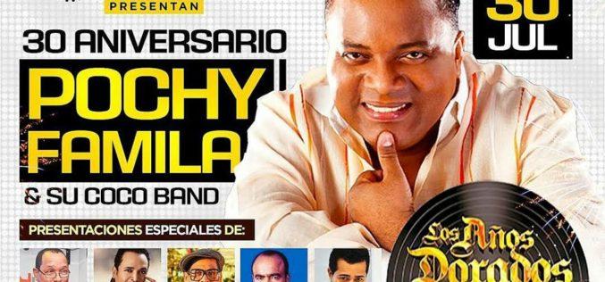 Pochy Familia y La Coco con Los Años dorados del Merengue en La Kuora