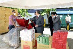 Estaban valorados en cerca de 48 millones de pesos; Aduanas destruye 10 millones de unidades de cigarrillos incautados