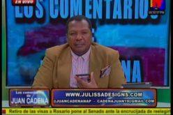 Cuentan que el comentarista Juan Cadena se reunió con Leonel Fernández y todo fue «de paños y manteles»