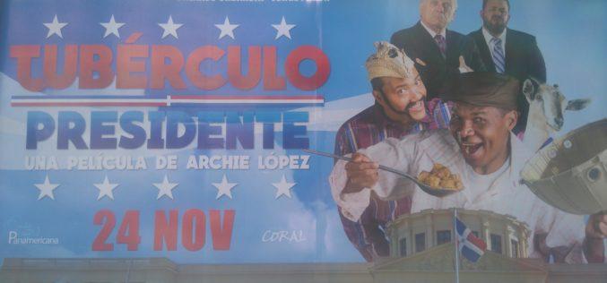 """""""Tubérculo Presidente"""", la película, en promoción «full»…"""
