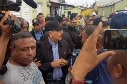 En Puerto Plata no permitieron que al presidente Danilo Medina se le acercara el alcalde…