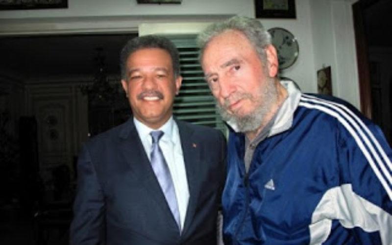 Leonel Fernández, en sus condolecias, valora la figura histórica de Fidel Castro