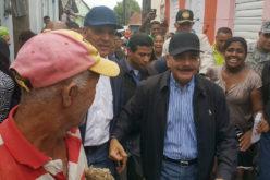 El presidente Medina en Playa Oeste, Los Coquitos y Nuevo Haití de Puerto Plata
