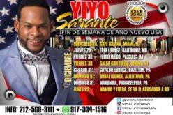 Yiyo Sarante «calienta el brazo» en Estados Unidos en Navidad y Año Nuevo… Lo que viene luego es lo grande…