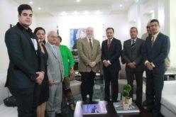 Ministro de Cultura y Alcalde acuerdan trabajar por el desarrollo cultural de Santiago