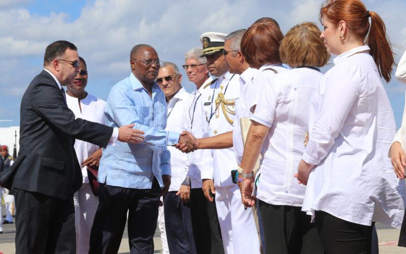 (Video) «Buenísimas», las relaciones entre Haití y RD, en valoración del presidente del país fronterizo, Jocelerme Privert