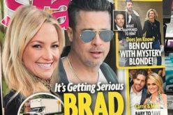 Kate Hudson parece decir sobre Brad Pitt en la foto: «Lo tengo; es mío…!»