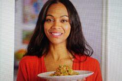 (Video) Zoe Saldaña tiene en «quinoa salteada» uno de sus platos favoritos