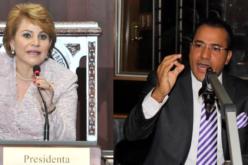 Video con Yomaira Medina, presidenta CD, hermana de Danilo, reafirmando que sigue demanda contra comunicador Salvador Holguín