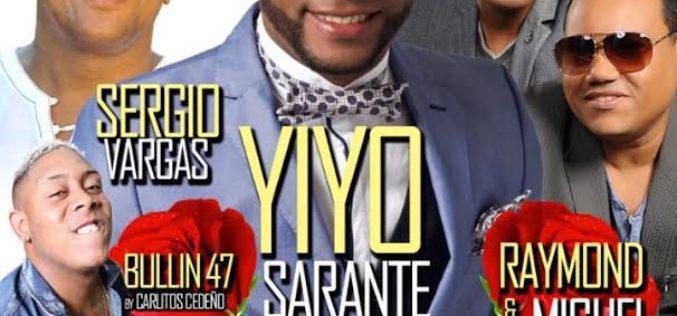Yiyo Sarante, Raymond y Miguel, Sergio y Bulin 47 celebrarán los 23 años de Vidal Cedeño en el «show-business» de Nueva York