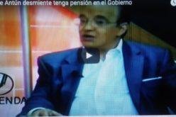 (Video) Quique Antún desmiente tenga pensión del Gobierno, aunque se considera merecedor de ella