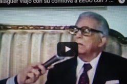 (Video) Balaguer viajó como presidente con comitiva de 4 a cumbre en EEUU, llevó 7 mil dolares para cubrir gastos, y devolvió mil