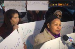 (Video) Activistas latinas de Nueva York salen en defensa de senadores dominicanos Marisol Alcántara y José Peralta