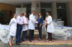 Despacho Primera Dama dona equipos e insumos médicos al Hospital Materno Infntil Santo Socorro