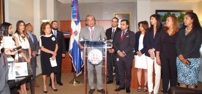RD asume por vez primera presidencia Coalición Latinoamericana de Cónsules en Nueva York (CLACNY)