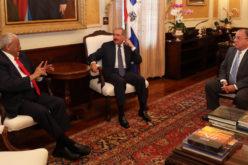 Negro Veras, ilustre jurista de Santiago: «Vine a hacerle una visita al presidente Danilo Medina. Mantengo con él fraternas relaciones»