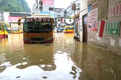 Inundaciones en zonas de China…