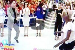 (Video) La viejita con El Pachá moviendo la cintura y todo el esqueleto