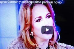 (Video) Milagros Germán y sus requisitos para un novio: que se pare, que camine, y lo coge hasta con ingreso de «sueldo mínimo»