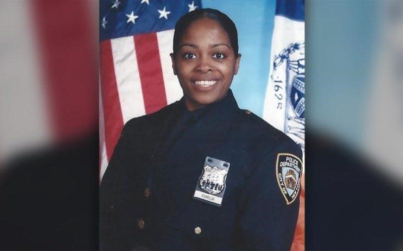 Designarán con el nombre de Miosotis Familia, la oficial policial dominicana asesinada en Nueva York, una calle del Bronx