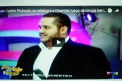 (Video) Juan Carlos Pichardo regresa a Divertido con Jochy luego de cirugía bariátrica