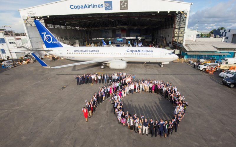 Los 70 años de Copa Airlines…