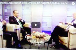 (Video) Embajador lamenta que ni un dominicano haya participado en el Premio Juan Bosch de la Unesco, instituido en el 2009