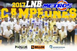 Presidente Medina felicita a Metros de Santiago por coronarse campenoes de la Liga Nacional de Baloncesto