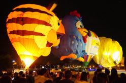Impresionante exhibición de globos…
