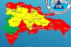 Toda la costa del territorio dominicano bordeada de alerta roja por el huracán Irma; los niveles de alerta por colores