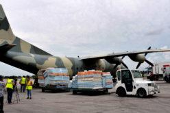 Llegando ayuda de Venezuela a La Habana para afectados por el huracán Irma en Cuba