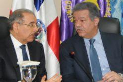Danilo Medina y Leonel Fernández con manifestaciones de pesar y solidaridad con México por el terremoto