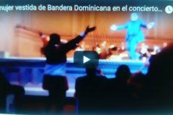 (Video) La mujer que se vistió de Bandera Dominicana y bailó el merengue de El Torito en el Carnegie Hall de NY