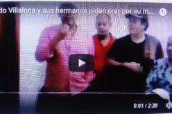 (Video) Fernando Villalona y sus hermanos piden desde clínica orar por la salud de su madre