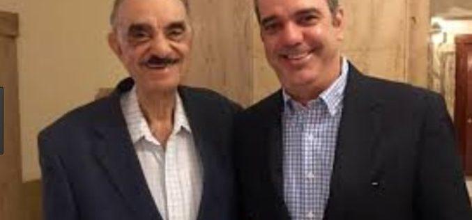 Luis Abinader se encuentra en Boston acompañando a su padre luego de intervencion quirúrgica