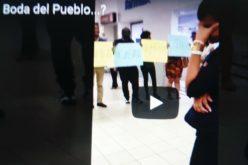 (Video)… Siguen las bodas del pueblo…Otra desde un supermercado…