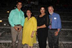 El Primer Cine al Aire Libre en Altos de Chavón fue presentado este jueves con «Los carpinteros»