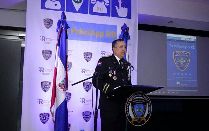 (Video) Ya la PN tiene aplicación móvil para que ciudadanos reporten delitos: Tu PoliciAPP RD