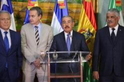Presidente dominicano Danilo Medina explica cómo va el diálogo entre el gobierno y la oposición de Venezuela en RD