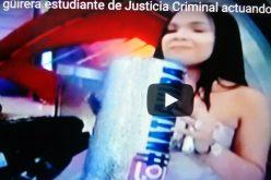 (Videos) Naty, la güirera que estudia Justicia Criminal en Estados Unidos