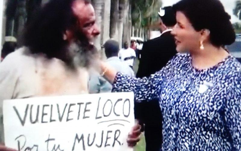 (Video) La vice Margarita con el «loco» que exhorta al hombre a volverse loco de amor con su mujer y no maltratarla
