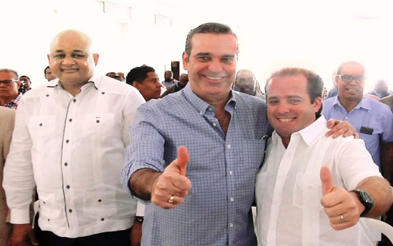 Luis Abinader asegura su apoyo y el de Hipólito a José Paliza y Carolina garantizs unidad del PRM