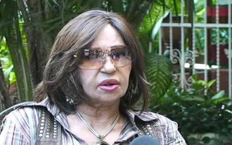 Fefita La Grande de luto por fallecimiento de su hija Carmen Miledys